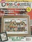 Cross Country Stitching | Cover: Country Shoppes