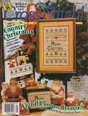 Cross Stitch Magazine | Cover: Country Christmas