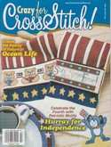 Crazy for Cross Stitch | Cover: Stars and Stripes