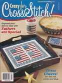Crazy for Cross Stitch | Cover: Three Cheers