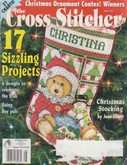 The Cross Stitcher | Cover: Stitching Teddy Stocking