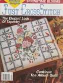 Just Cross Stitch | Cover: Bouquet & Bamboo