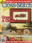 Cross Stitch Plus | Cover: Antique Fire Engine