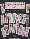 Quick to Stitch 3 | Cover: Various Bookmarks