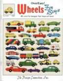Wheels For Boys | Cover: Car and Truck Motifs