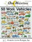 50 Work Vehicles | Cover: Various Work Vehicles
