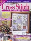 Cross Stitch & Needlework | Cover: Summer Sampler