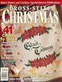 BH&G Cross Stitch Christmas | Cover: Glad Tidings Sampler
