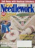 McCall's Needlework | Cover: Summertime Embroidery