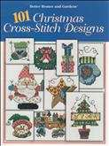 101 Christmas Cross Stitch Designs | Cover: Various Christmas Designs