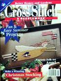 Cross Stitch & Needlework | Cover: Patriotic Primitive Angel