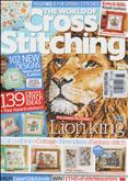 The World of Cross Stitching | Cover: Lion King