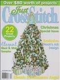 Just Cross Stitch | Cover: Elegant Christmas Tree