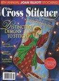 The Cross Stitcher | Cover: Christmas Angel Stocking