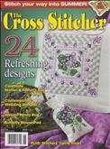 The Cross Stitcher | Cover: Violet Pillow