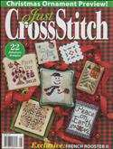 Just Cross Stitch | Cover: Various Christmas Ornaments