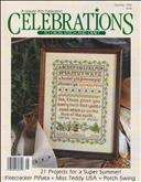 Celebrations to Cross Stitch & Craft | Cover: Summer's Herbs