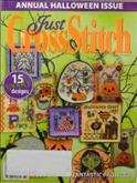 Just Cross Stitch | Cover: Various Halloween Ornaments