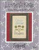Cross Stitcher in Residence | Cover: Cross Stitcher in Residence