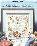 A Little Birdie Told Me - Birth Sampler | Cover: A Little Birdie Told Me - Birth Sampler
