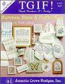 Bunnies, Bees, & Butterflies | Cover: Various Bunny, Bee, & Butterfly Designs