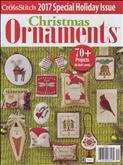 Just Cross Stitch - Christmas Ornaments | Cover: Various Christmas Ornaments