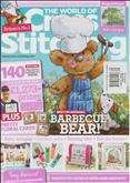 The World of Cross Stitching | Cover: Barbecue Bear