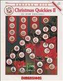 Christmas Quickies II | Cover: Various Christmas Ornaments